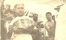 Ο σαργός Φαραώ που χάρισε στο Γ. Σαρρή το πρωτάθλημα μέσα στην Κέρκυρα.